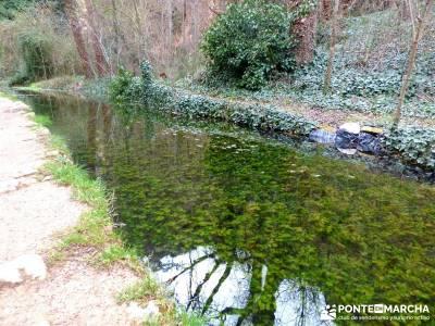Parque Natural Monasterio de Piedra; ocio y aventura; senderos gr;agencias viaje madrid